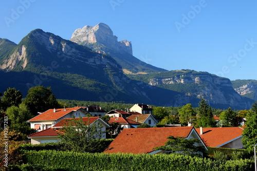 Der Crolles-Zahn, Chartreuse-Gebirgsmassiv, Grà © sivaudan-Tal, Isère, Alpen, F Fototapete