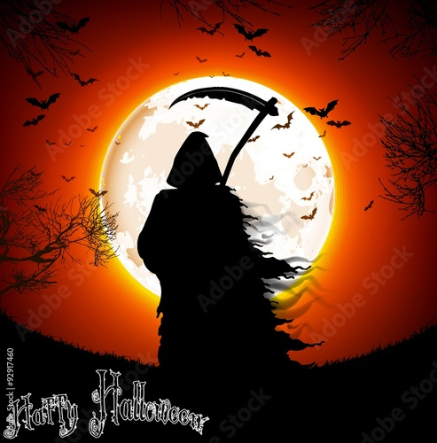 Photo  Halloween background