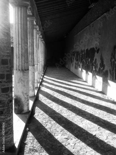 Corridoio porticato della Villa di Poppea a Oplontis