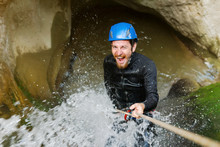 Getting Wet While Canyoning