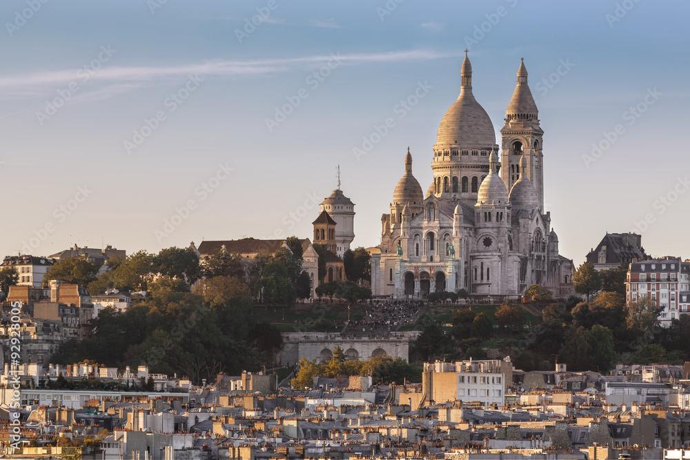 Fototapety, obrazy: La Basilique du Sacré Cœur de Montmartre