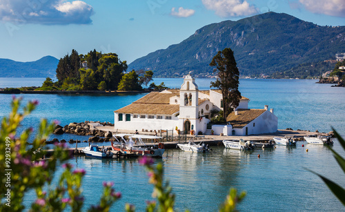 Fototapeta Beautiful Corfu