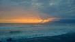 tramonto col mal tempo