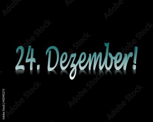 Weihnachten Datum.24 Dezember Weihnachten Datum Buy This Stock Illustration And