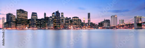Skyline of Manhattan, New York, USA