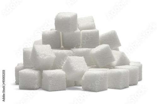 Fototapeta Sugar Cube Pile
