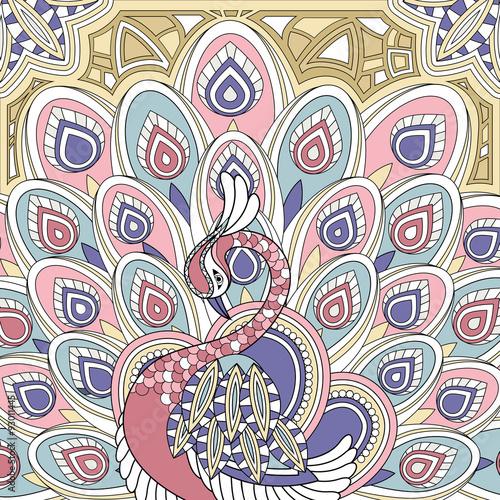 elegant peacock - 93011445