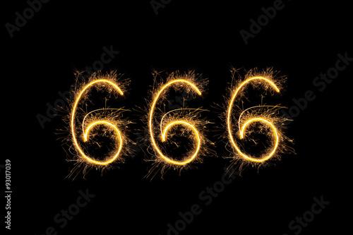 фотография  666