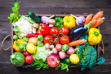Vegetable And Fruits Box, Fresh Food Delivery.