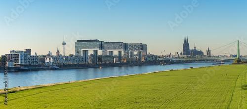 Fotografía  Köln Skyline panorama