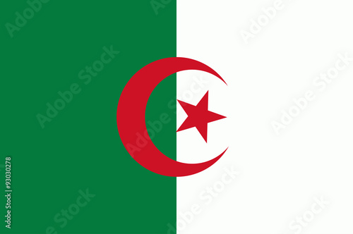 Photo Flag of Algeria