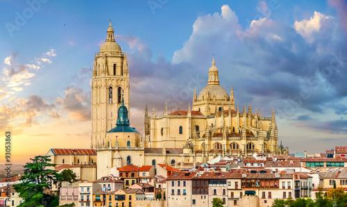 Foto  Catedral de Santa Maria de Segovia, Castilla y Leon, Spain