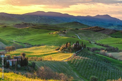 Fototapety, obrazy: Beautiful image of the Tuscany countryside