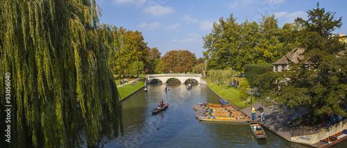 Fotografia Trinity Bridge in Cambridge