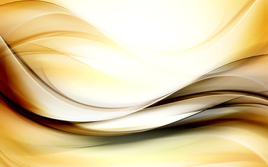 Decorative Gold Abstract Background
