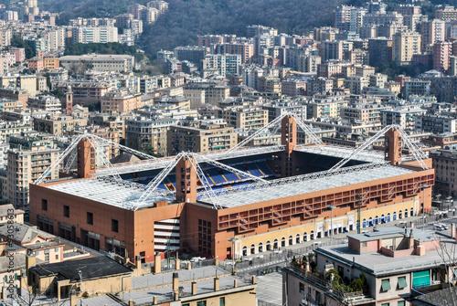 Foto op Plexiglas Stadion Aerial view of the stadium