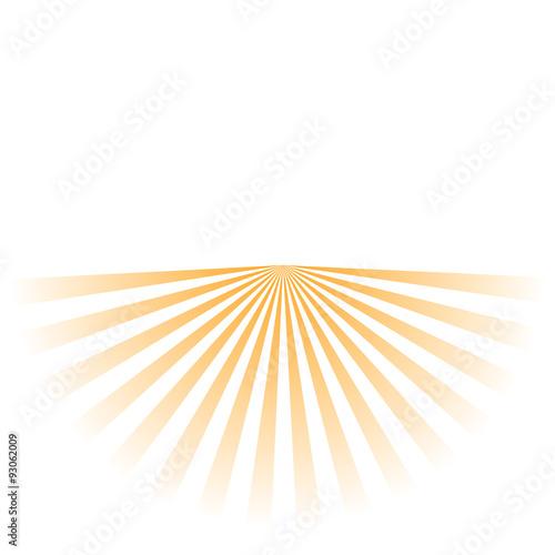 Fotografie, Obraz  sun rays background
