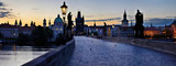 Charles Bridge in Prague -Stitched Panorama