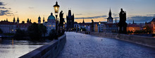 Charles Bridge In Prague -Stit...
