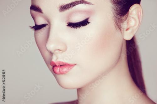 Fotografía  Beautiful woman face