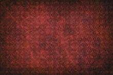Hintergrund Und Struktur - Rot...
