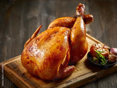 Fototapeta roasted chicken obraz