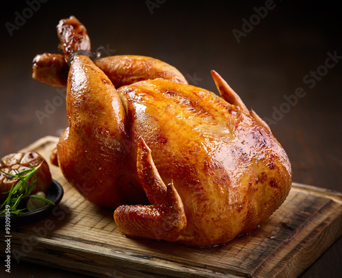 Fototapeta roasted chicken obraz