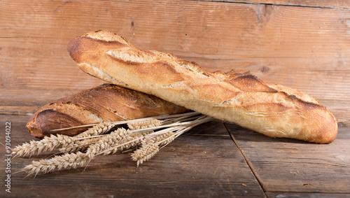 Fotografie, Obraz  Crusty fresh baguettes