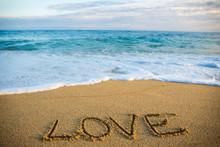 Travel Concept - Word Love Wri...