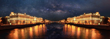 Night Landscape In St. Petersb...