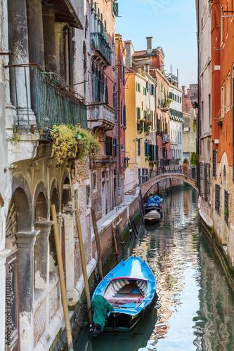 Foto op Plexiglas Venetie Venice. Urban canal