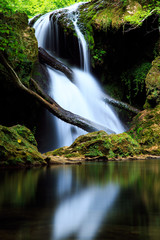 Obraz Cascada La Vaioaga in Cheile Nerei national park