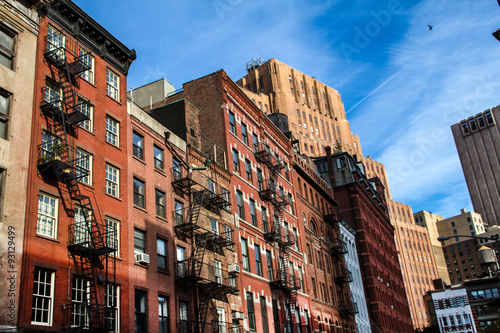 Foto auf Leinwand New York Meatpacking District