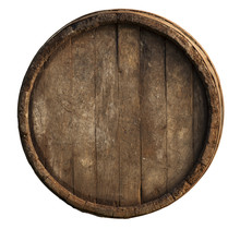 Wooden Barrel For Wine With St...