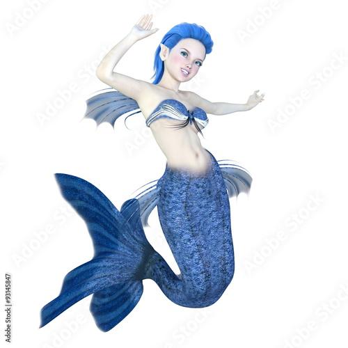 Wall Murals Mermaid 人魚
