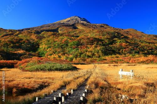 Muraille de Chine 鳥海山 竜ケ原湿原の紅葉