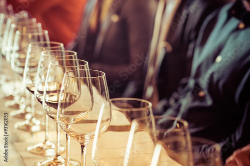 Fotografía  Vidrio para la degustación de vinos
