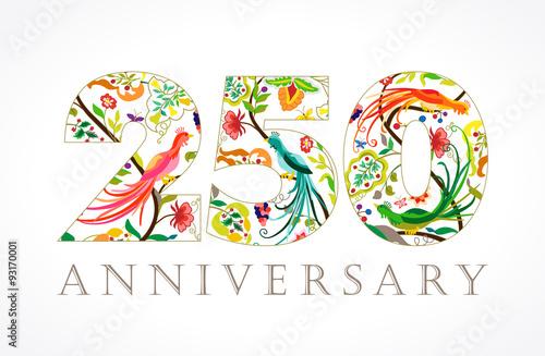 Tela  250 anniversary ethnic numbers