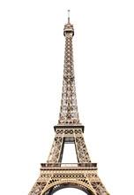 Famous Eiffel Tower In Paris