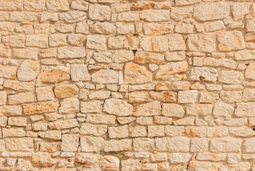 fototapeta kamienny mur  beżowy