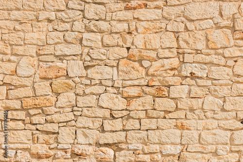 Stein Mauer Alt Hell Beige Hintergrund Textur Struktur