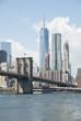 Brooklyn Bridge in New York City.