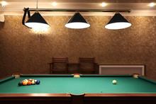 Billiards, Billiard Balls On The Table
