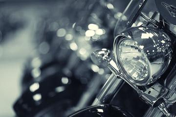 fragment motocykla
