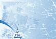 Leinwandbild Motiv Grunge winter background