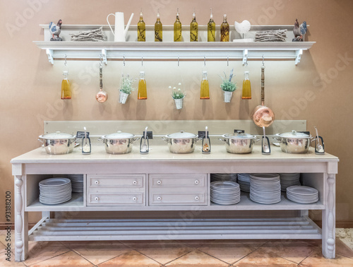 Cadres-photo bureau Cuisine Landhausküche
