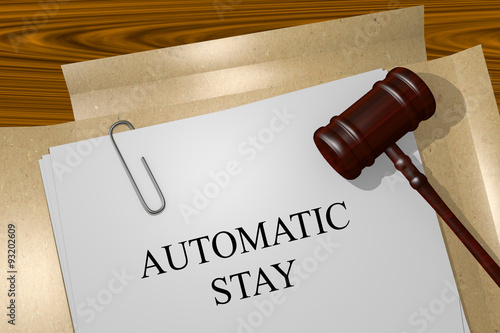 AUTOMATIC STAY concept Canvas Print