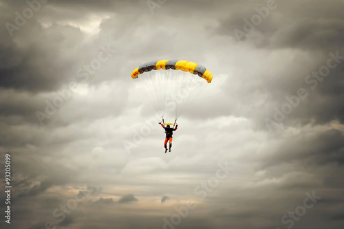 Canvas Prints Sky sports Paragliding