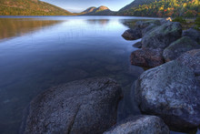 Jordon Pond In Acadia National Park, Maine