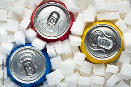 Fotografie, Obraz  Cukr v potravinách